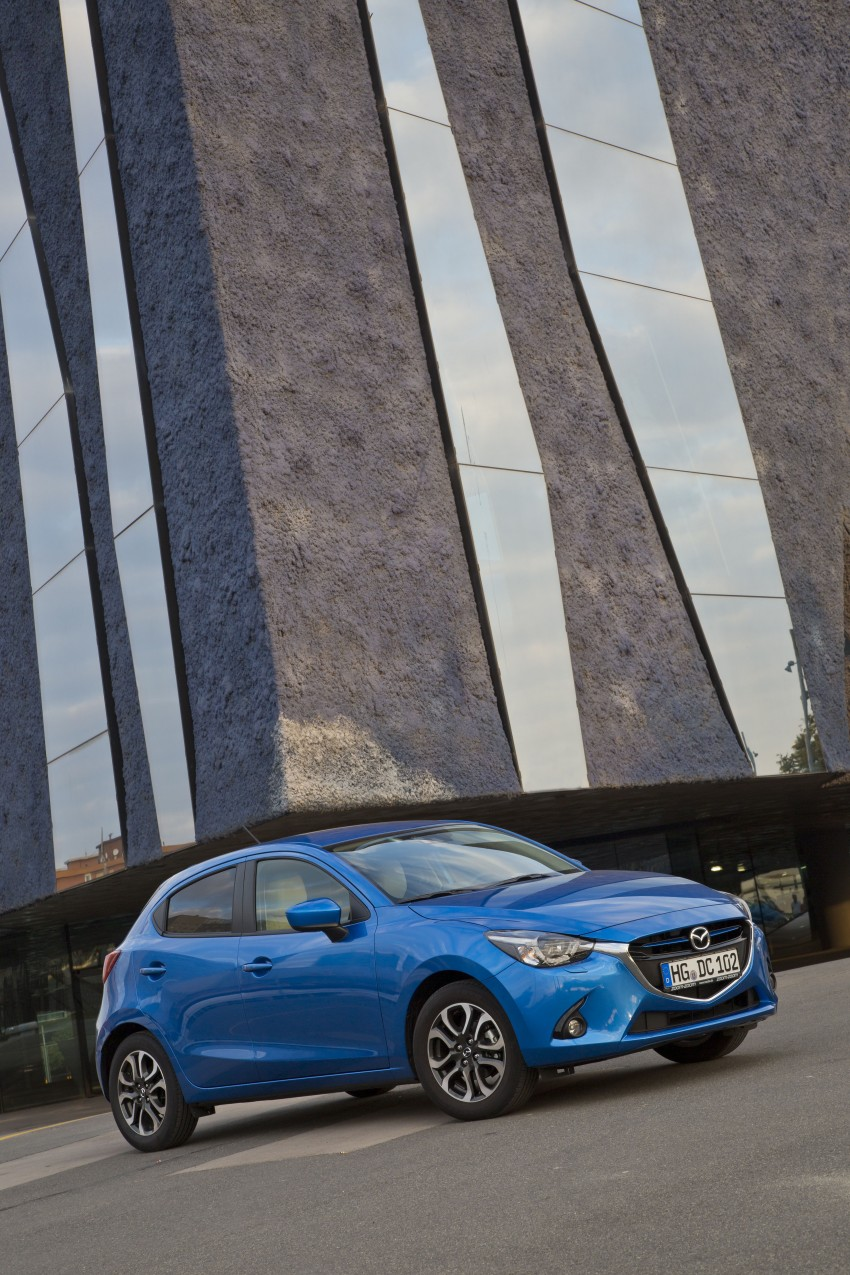 2015 Mazda 2 – European-market supermini detailed Image #285645