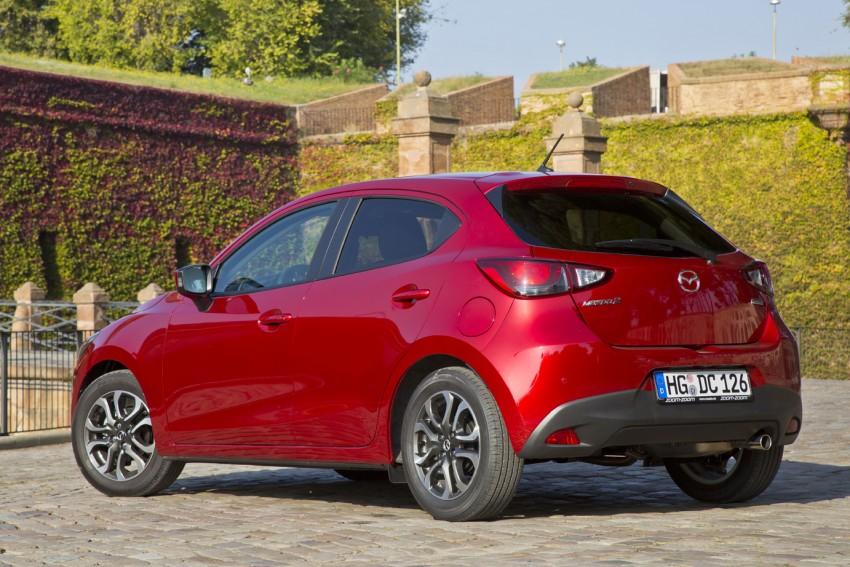 2015 Mazda 2 – European-market supermini detailed Image #285583