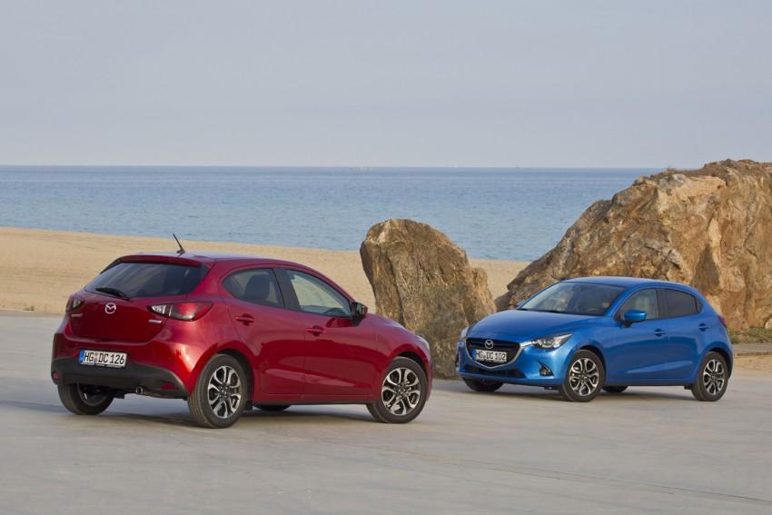 2015 Mazda 2 – European-market supermini detailed Image #285584