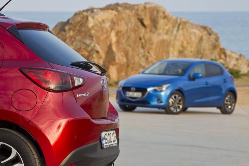 2015 Mazda 2 – European-market supermini detailed Image #285582