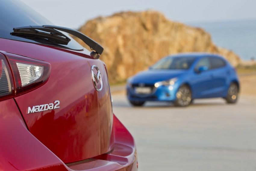 2015 Mazda 2 – European-market supermini detailed Image #285581