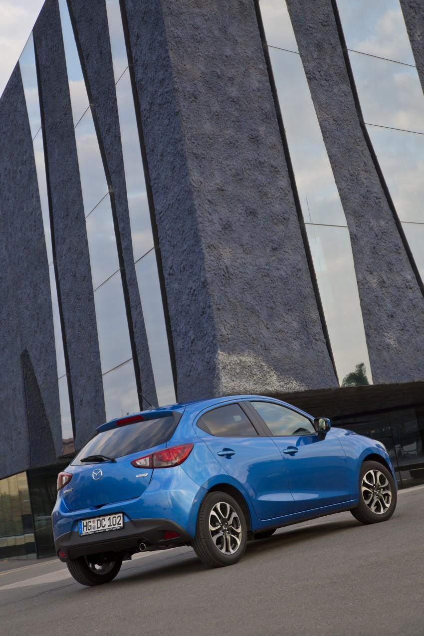 2015 Mazda 2 – European-market supermini detailed Image #285639