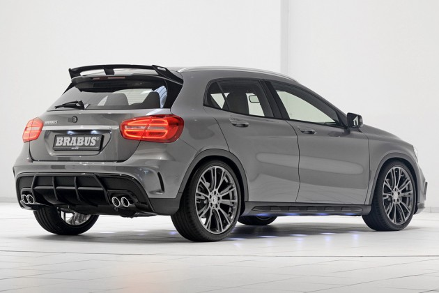 Brabus Tunes Mercedes Benz Gla Class Up To 400 Hp