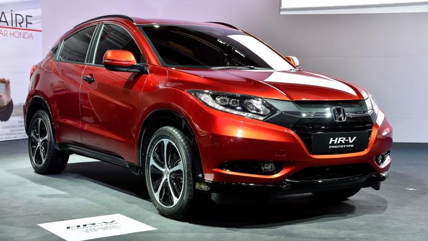 Paris 2014: European Honda HR-V looking good in red Image #278694