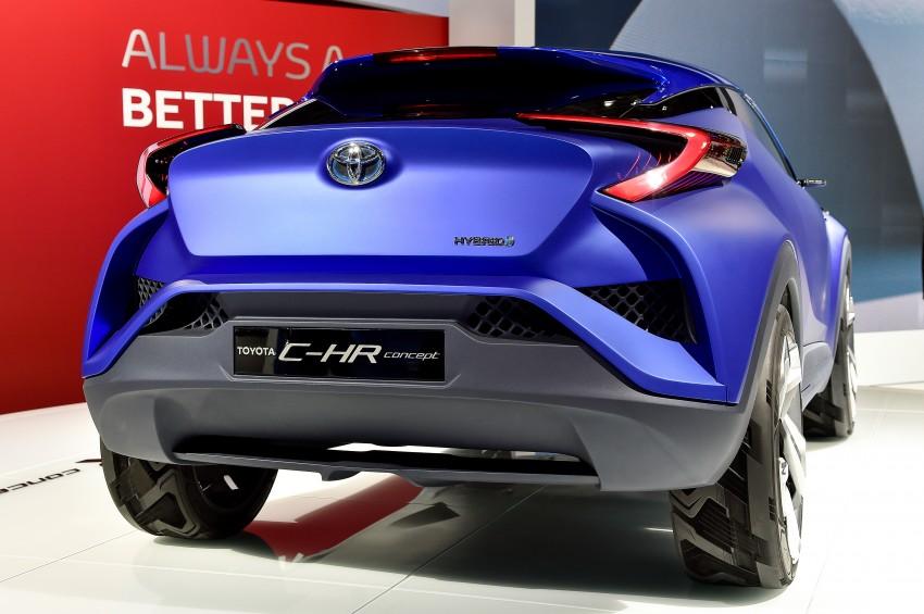 Toyota C-HR Concept: spirit of the RAV4, Prius and 86 Image #277965