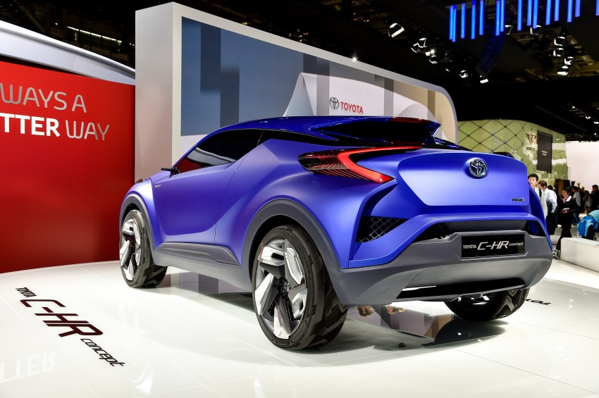 Toyota C-HR Concept: spirit of the RAV4, Prius and 86 Image #277959