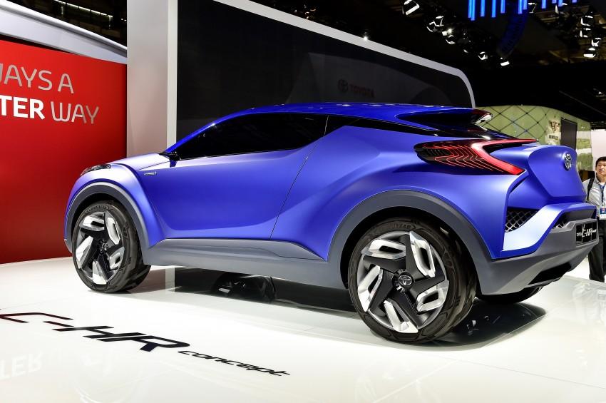 Toyota C-HR Concept: spirit of the RAV4, Prius and 86 Image #277963