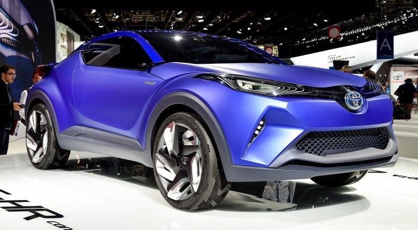 Toyota C-HR Concept: spirit of the RAV4, Prius and 86 Image #277960