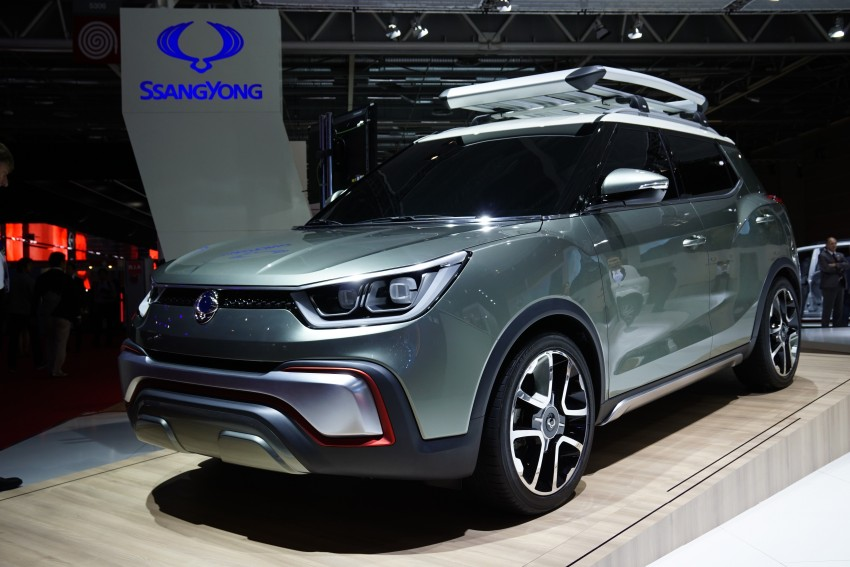 SsangYong XIV-Air and XIV-Adventure debut in Paris Image #277946