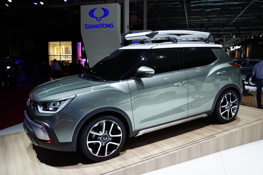SsangYong XIV-Air and XIV-Adventure debut in Paris Image #277947