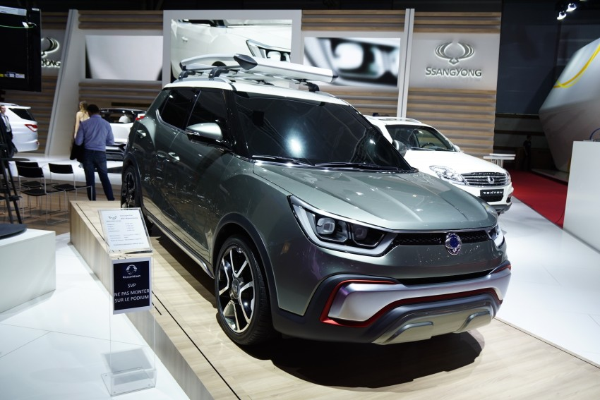 SsangYong XIV-Air and XIV-Adventure debut in Paris Image #277948