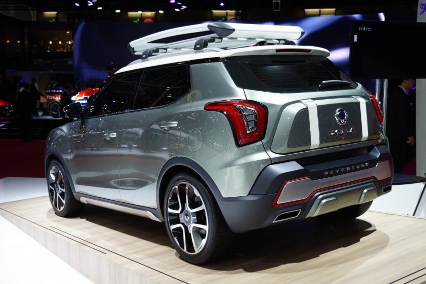 SsangYong XIV-Air and XIV-Adventure debut in Paris Image #277949