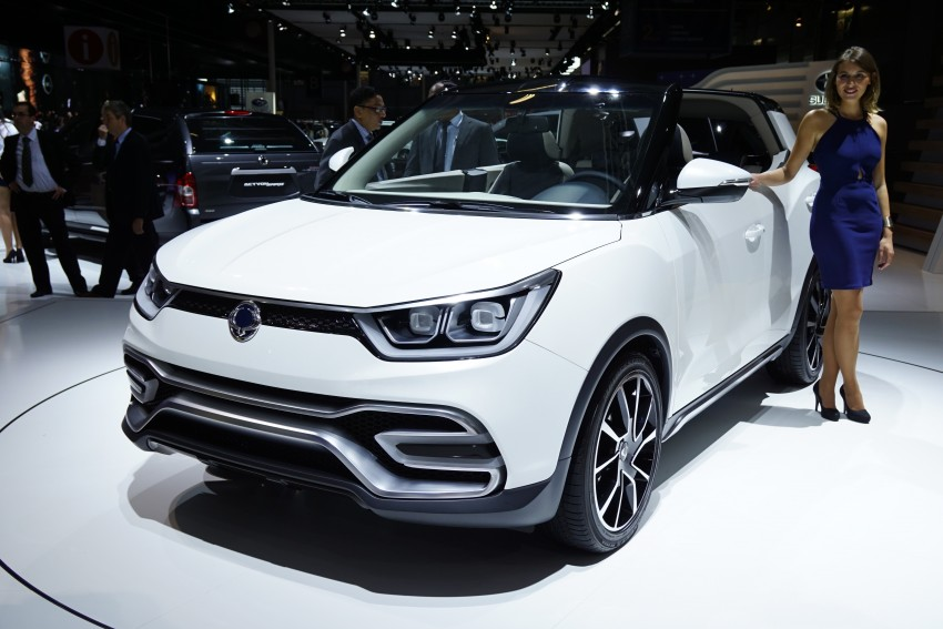 SsangYong XIV-Air and XIV-Adventure debut in Paris Image #277953