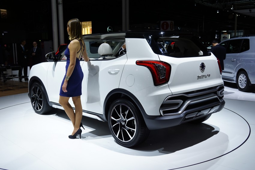 SsangYong XIV-Air and XIV-Adventure debut in Paris Image #277952
