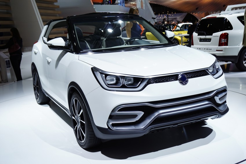 SsangYong XIV-Air and XIV-Adventure debut in Paris Image #277945