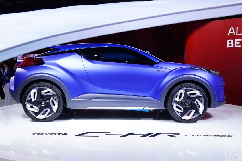 Toyota C-HR Concept: spirit of the RAV4, Prius and 86 Image #277955