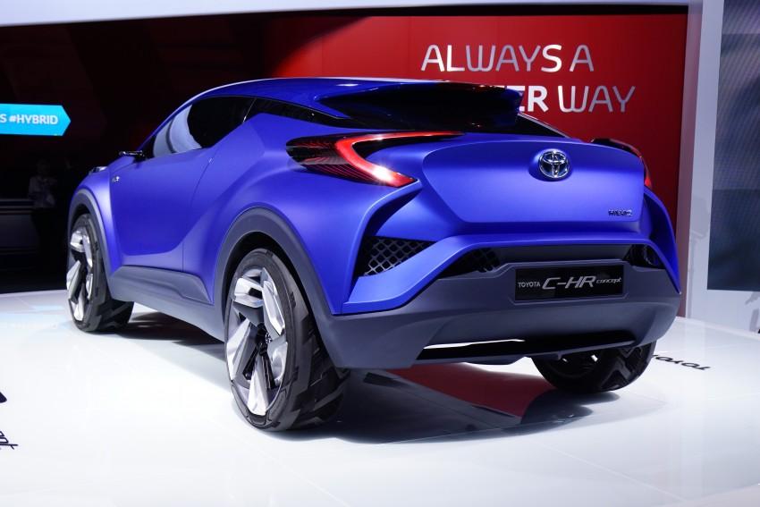 Toyota C-HR Concept: spirit of the RAV4, Prius and 86 Image #277957