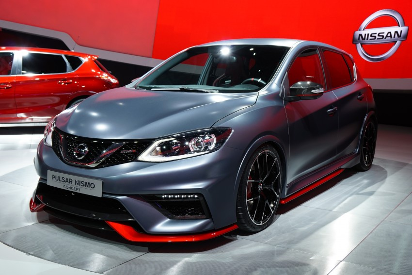 Nissan Pulsar Nismo Concept unveiled at Paris show – one step closer to taking on the Golf GTI Image #277820