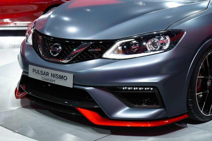 Nissan Pulsar Nismo Concept unveiled at Paris show – one step closer to taking on the Golf GTI Image #277817