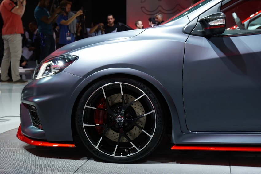 Nissan Pulsar Nismo Concept unveiled at Paris show – one step closer to taking on the Golf GTI Image #277821