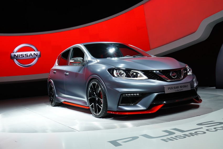 Nissan Pulsar Nismo Concept unveiled at Paris show – one step closer to taking on the Golf GTI Image #277819
