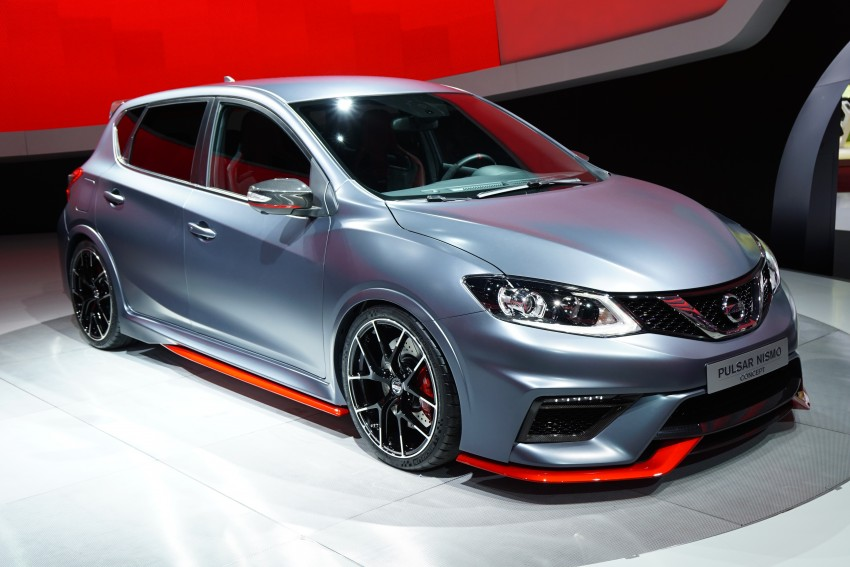 Nissan Pulsar Nismo Concept unveiled at Paris show – one step closer to taking on the Golf GTI Image #277822