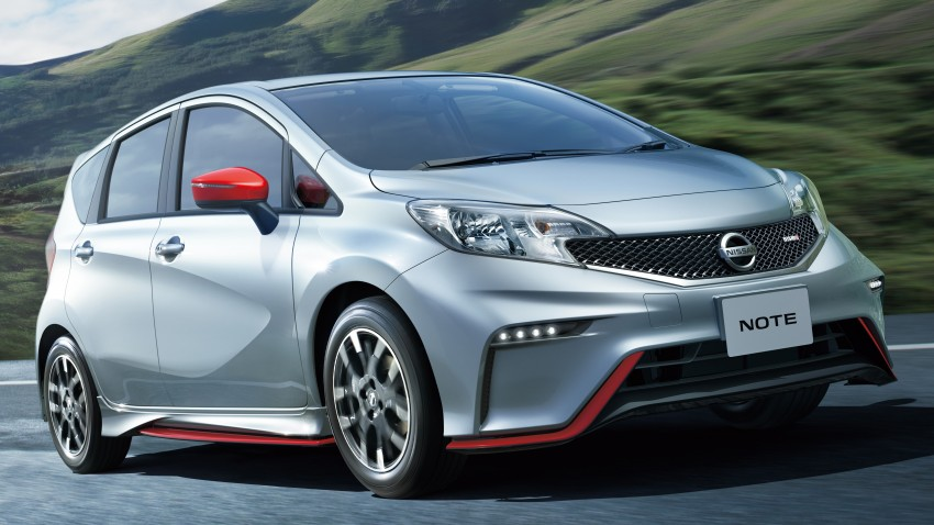 Nissan Note Nismo – full JDM specifications revealed Image #280304