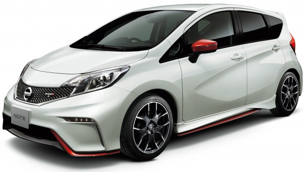 nissan note nismo full jdm specifications revealed. Black Bedroom Furniture Sets. Home Design Ideas