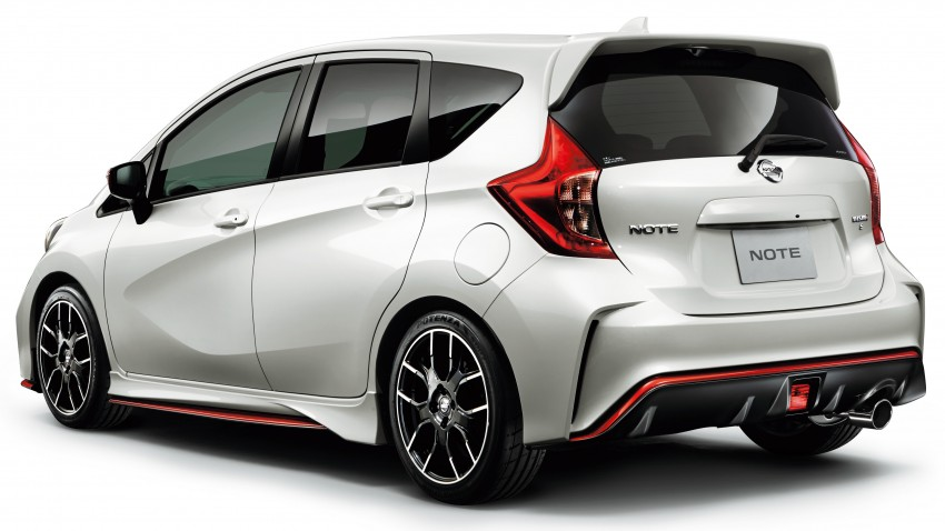 Nissan Note Nismo – full JDM specifications revealed Image #280308