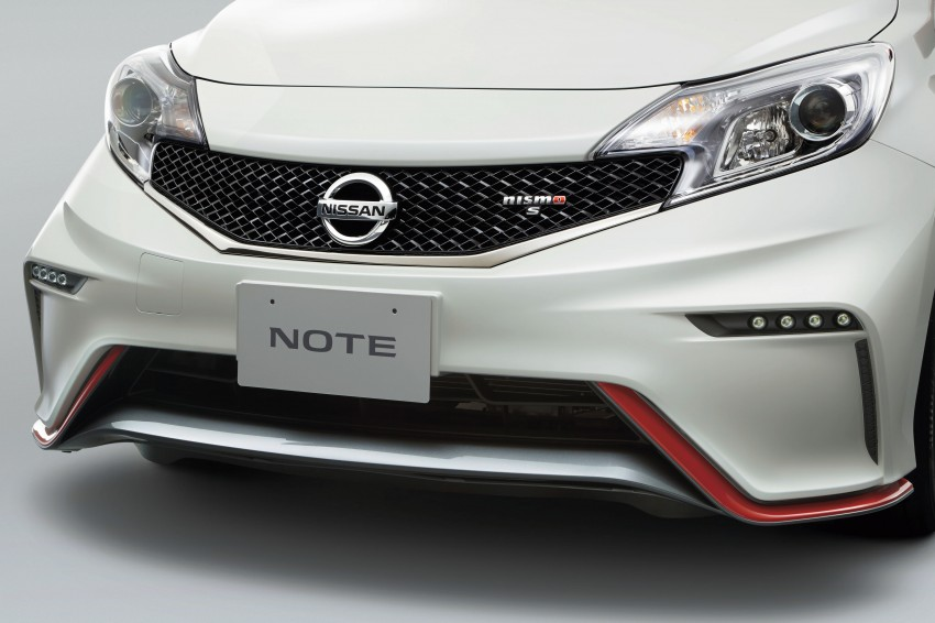 Nissan Note Nismo – full JDM specifications revealed Image #280309