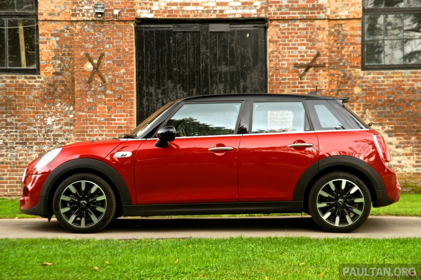DRIVEN: F55 MINI Cooper S 5 Door tested in the UK Image #279088