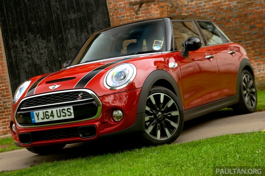DRIVEN: F55 MINI Cooper S 5 Door tested in the UK Image #279089
