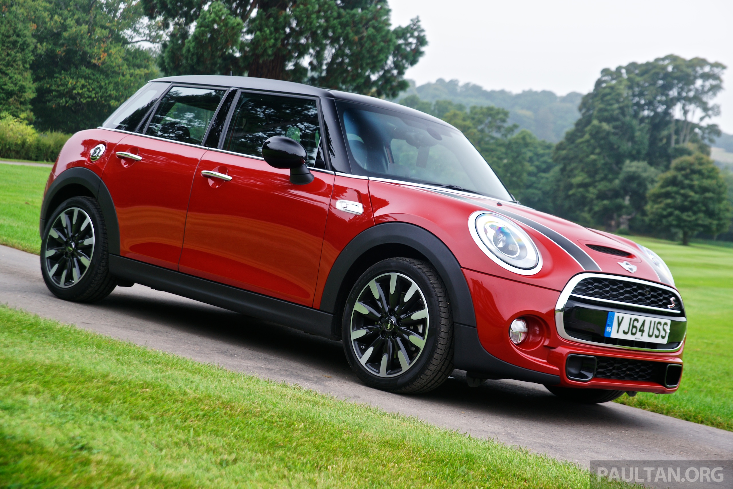 driven f55 mini cooper s 5 door tested in the uk image 278982. Black Bedroom Furniture Sets. Home Design Ideas