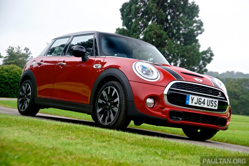 DRIVEN: F55 MINI Cooper S 5 Door tested in the UK Image #278983