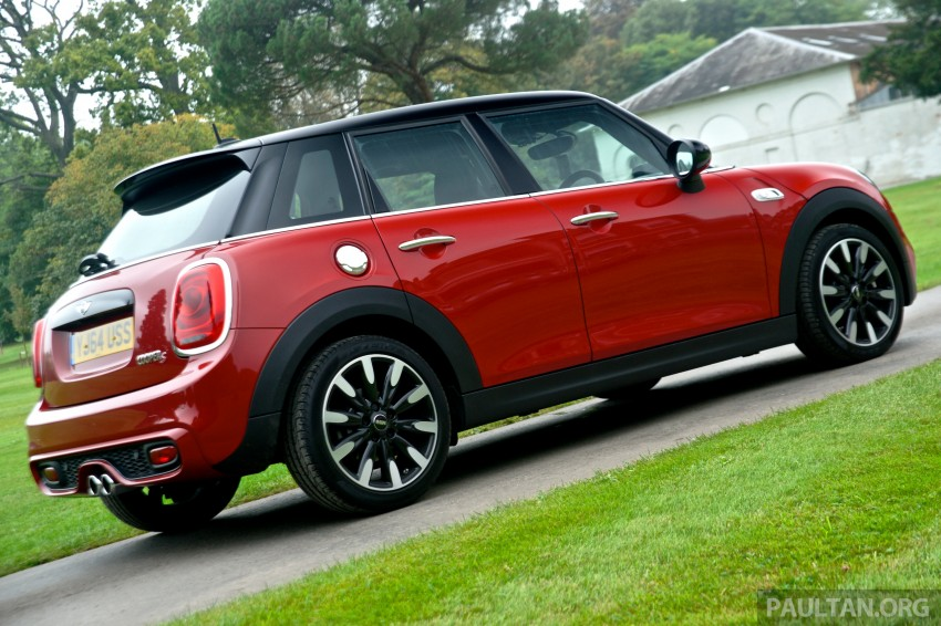 DRIVEN: F55 MINI Cooper S 5 Door tested in the UK Image #278985