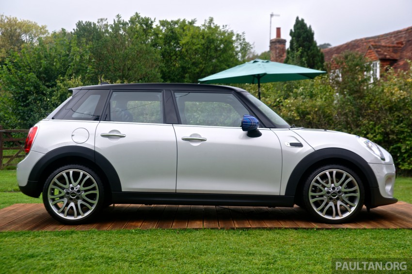 Driven F55 Mini Cooper S 5 Door Tested In The Uk Image 279442
