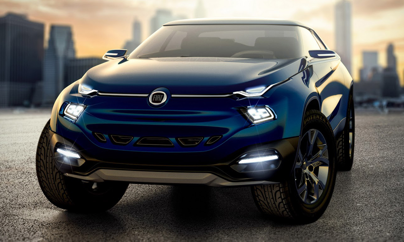 Car And Truck >> Fiat Concept Car 4 previews future pick-up truck Paul Tan - Image 283764