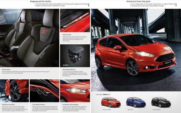 Fiesta ST brochure 3