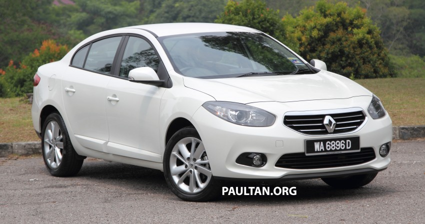 DRIVEN: Renault Fluence 2.0 X-Tronic CKD tested Image #283386