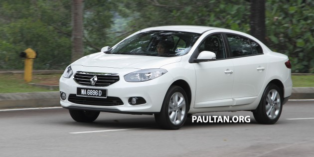 renault fluence vs ford focus