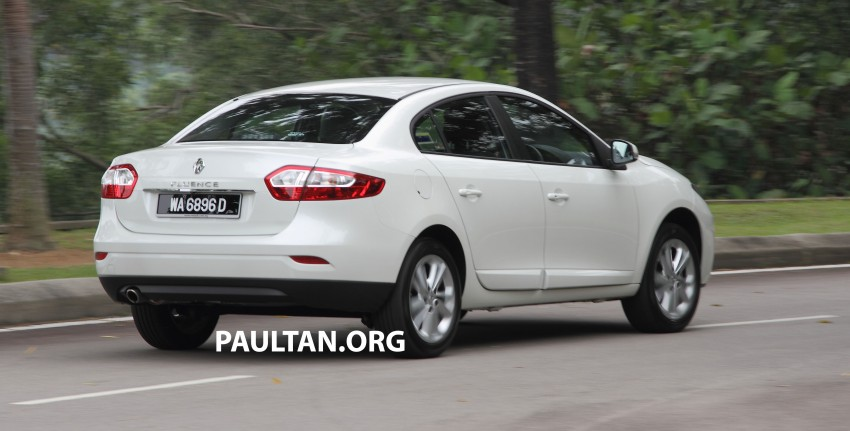 DRIVEN: Renault Fluence 2.0 X-Tronic CKD tested Image #283389