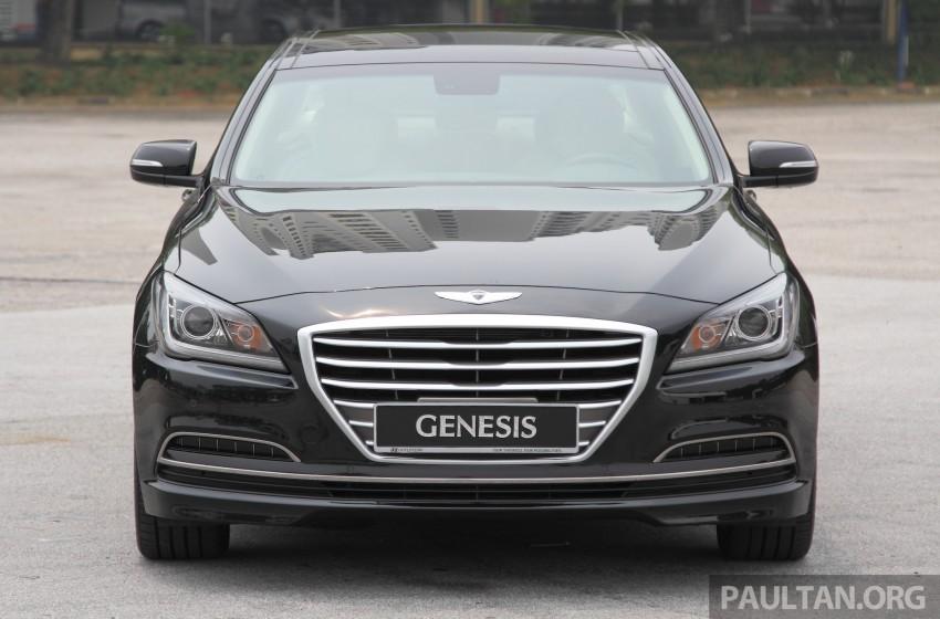 GALLERY: Hyundai Genesis 3.8 GDI V6 in Malaysia Image #282672