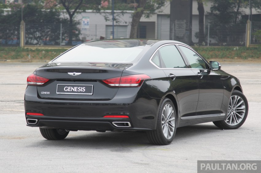 GALLERY: Hyundai Genesis 3.8 GDI V6 in Malaysia Image #282650