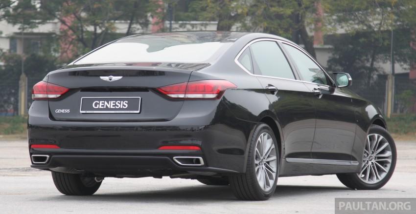 GALLERY: Hyundai Genesis 3.8 GDI V6 in Malaysia Image #282676