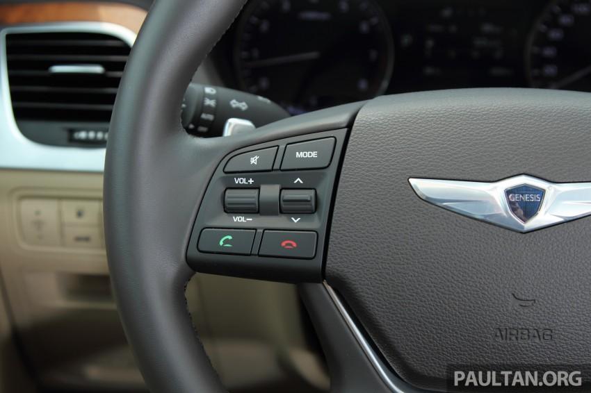 GALLERY: Hyundai Genesis 3.8 GDI V6 in Malaysia Image #282622