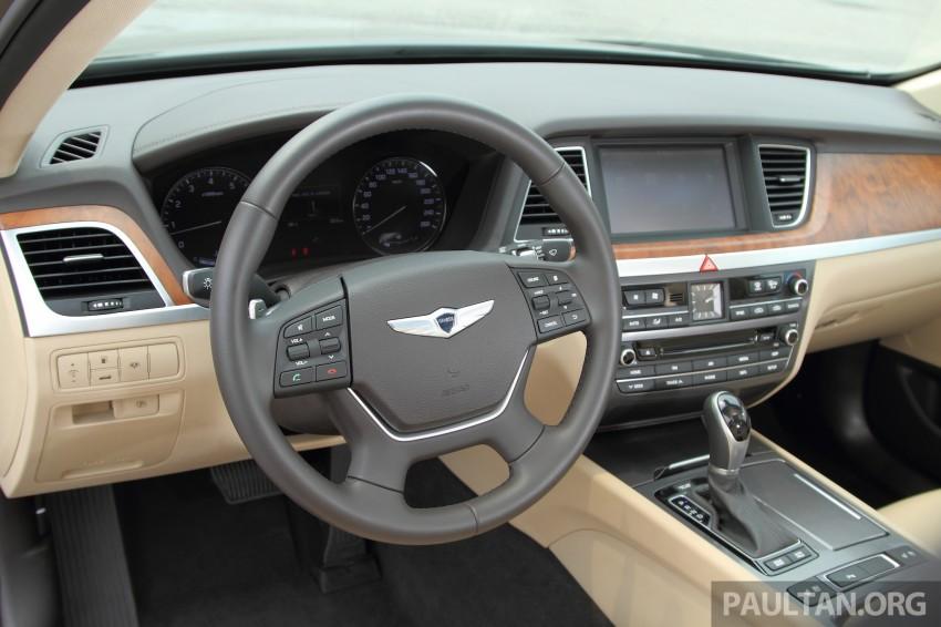 GALLERY: Hyundai Genesis 3.8 GDI V6 in Malaysia Image #282616