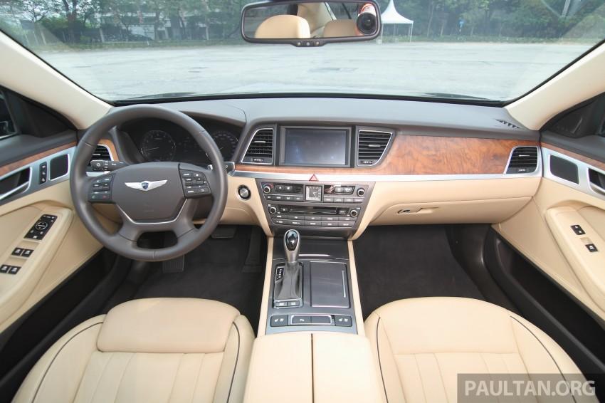 GALLERY: Hyundai Genesis 3.8 GDI V6 in Malaysia Image #282604