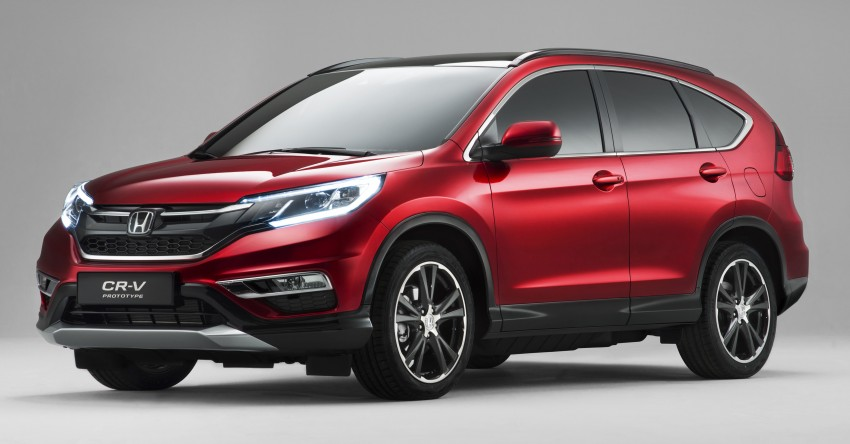 2015 Honda CR-V facelift – 2.4 i-VTEC with CVT for the US, and 1.6 i-DTEC with nine-speed auto for Europe Image #276701