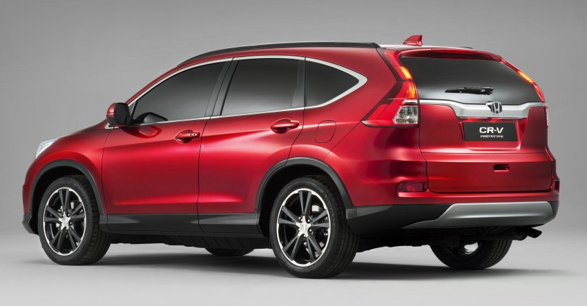 2015 Honda CR-V facelift – 2.4 i-VTEC with CVT for the US, and 1.6 i-DTEC with nine-speed auto for Europe Image #276700