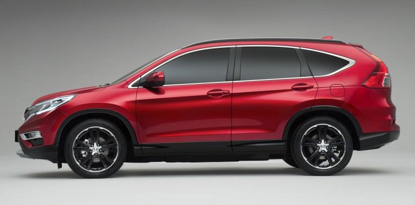 2015 Honda CR-V facelift – 2.4 i-VTEC with CVT for the US, and 1.6 i-DTEC with nine-speed auto for Europe Image #276699